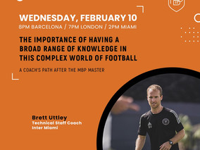 Guest on the MBP School of Coaches Webinar Series