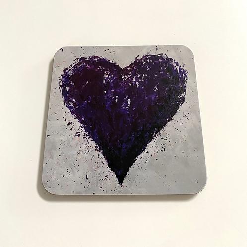 Purple Heart Coasters