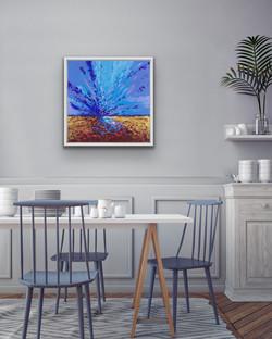 Dusk, 60x60cm, Sold