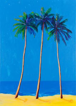 Shining Palms, 50x70CM, £1,495