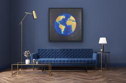 Cosmic, 100x100cm, Sold