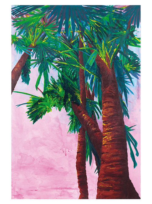 Sunset Palms Fine Art Print