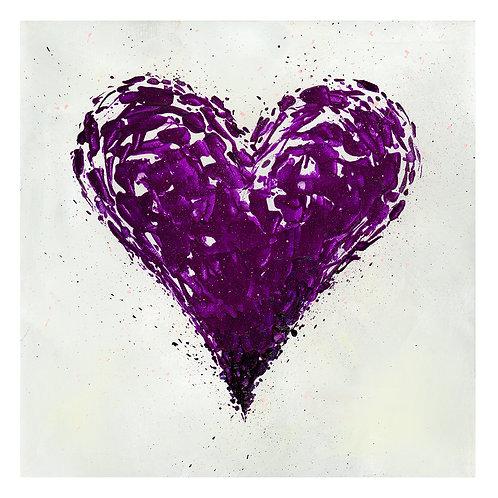 Purple Heart Fine Art Print