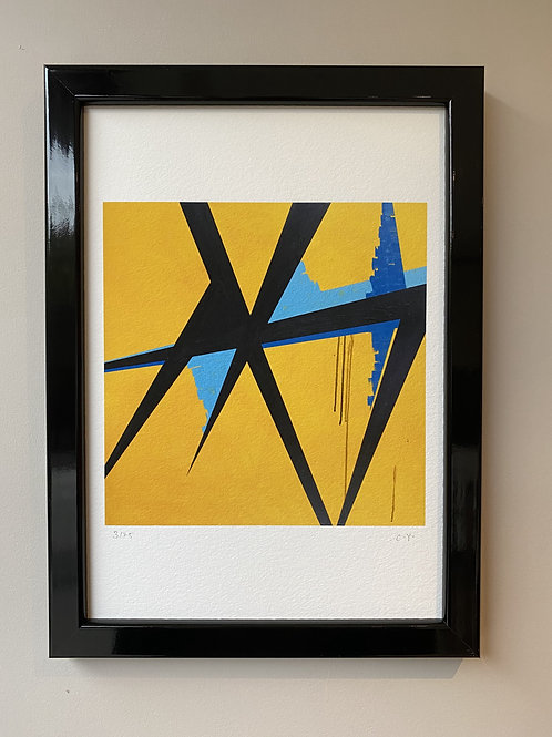 Framed Island Hopping Fine Art Print
