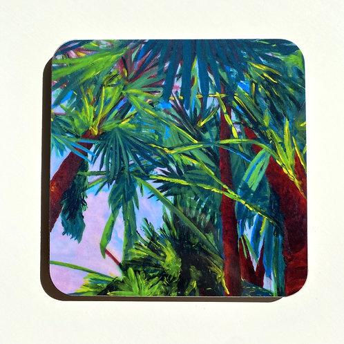 Sunset Palms Coasters