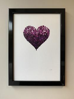 Purple Piece of My Heart lll, A4, £75