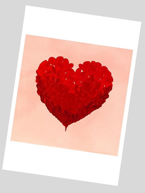 All Your Heart lV Fine Art Print