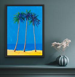 Shining Palms, 50x70CM, £1495