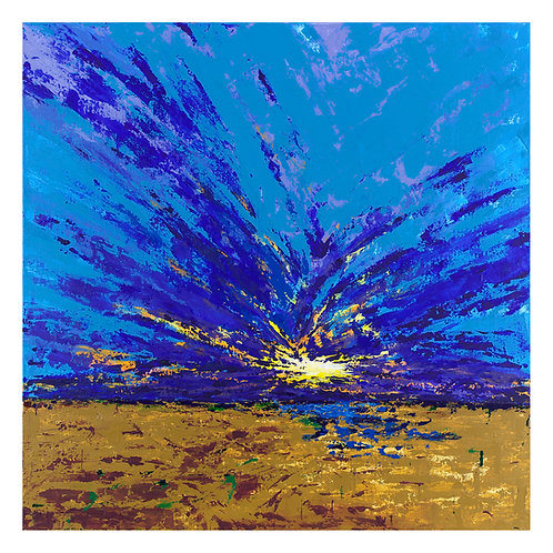 Holkham Splash Fine Art Print