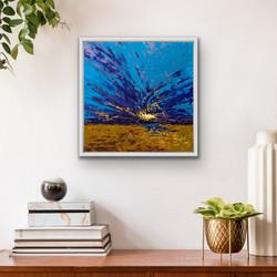 Holkham Splash, 60x60cm, Sold
