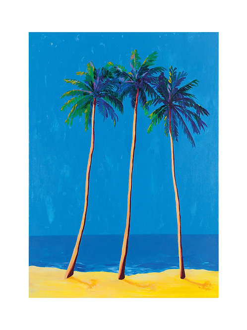 Shining Palms Fine Art Print