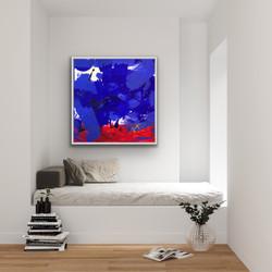 Flow 3, 100x100cm, Sold