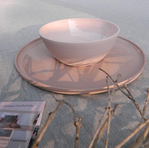 Piatto e bowl collezione UnoPerVolta