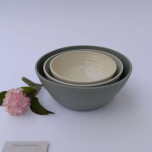 TRIS di bowls PICCOLA/MEDIA/GRANDE (pre-ordine)