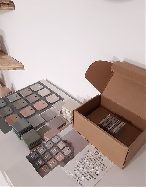 Box campioni colore