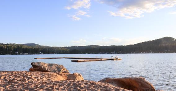 Our Swim Dock