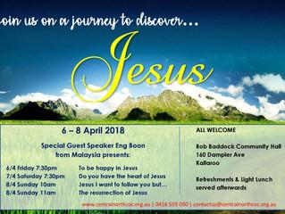 Journey to discover Jesus