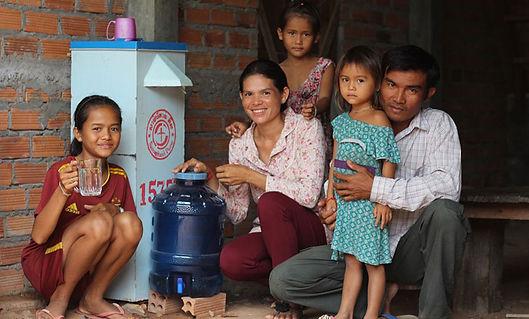 Cambodia-clean-water - Bio Sand Water Fi