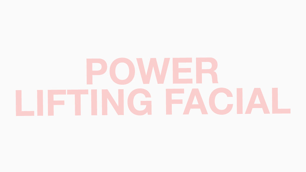 POWER LIFTING FACIAL GIFT VOUCHER