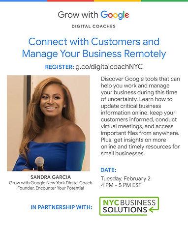 Sandra Digital Coaches _Marketing Templa