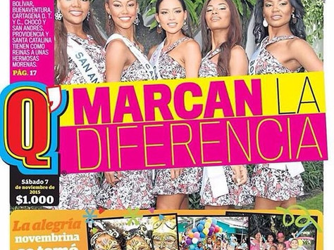 """Tremendas Morenas"" Miss Columbia Pageant Has 5 Reinas Morenas"