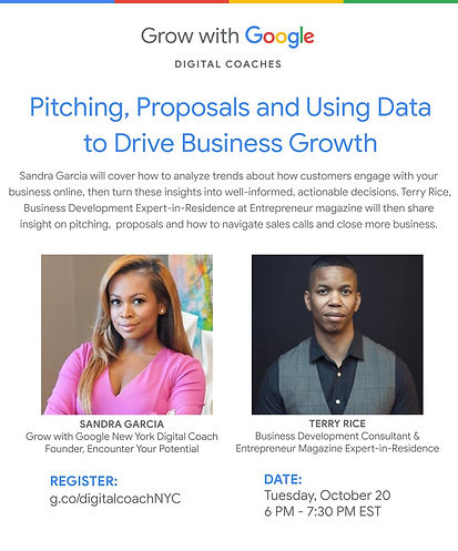Pitching Proposals and Using Data to Dri