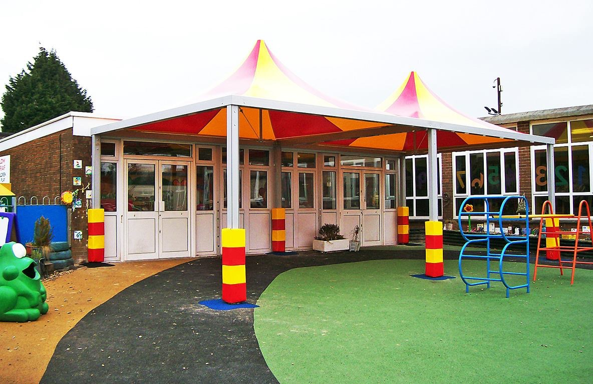 Garden Walkways School Canopies Tensile Shelters Amp Covered Walkways
