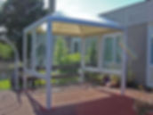 playground shelters, school canopies, covered walkways