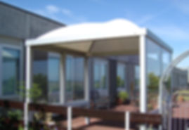 playground shelters and shade structures with a 10 year guarantee.