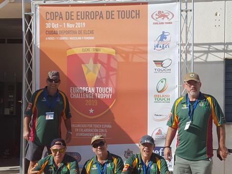 EUROPEAN TOUCH CHALLENGE TROPHY SPAIN ELCHE 2019