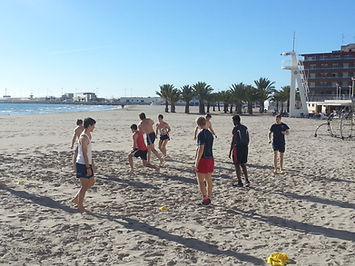 Spots Camp Spain Beach Rugby Venue