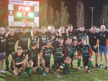 ON TOUR with WATERHEAD WARRIORS RLFC U15s and BARRIE McDERMOTT in SPAIN