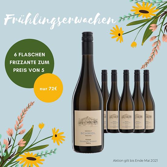 6 x Riesling Frizzante Dürnsteiner Terrassen 2019