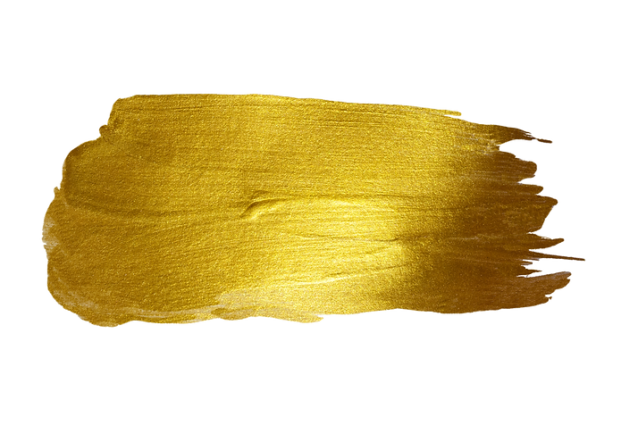 Gold watercolor texture paint stain abst