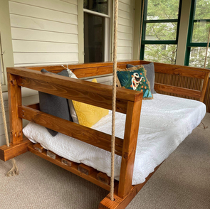 Swinging Porch Bed - $1500