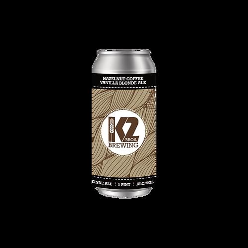 Hazelnut Coffee Vanilla Blonde Ale (16oz.) 4-pack