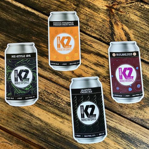 K2 Can Sticker