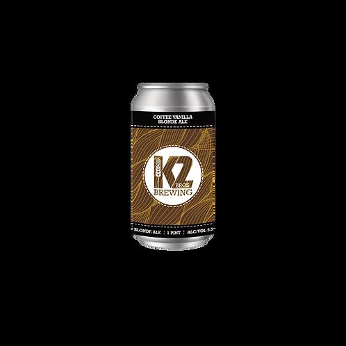 Coffee Vanilla Blonde Ale (16oz.) 4-pack