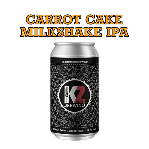 PILOT BATCH: Carrot Cake Milkshake IPA (32oz. Crowler)