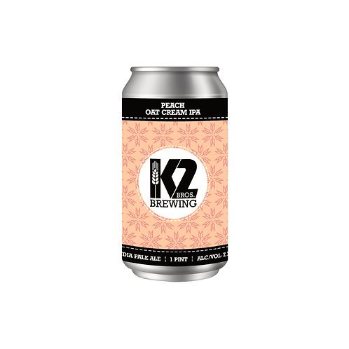 Peach Oat Cream IPA (16oz.) 4-pack