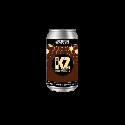 Hot Honey Brown Ale (16oz.) 4-pack