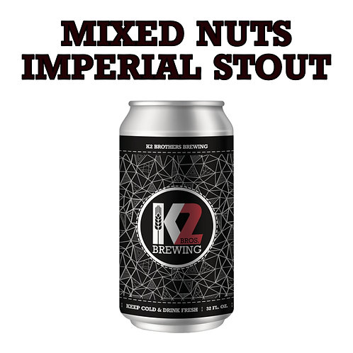 Mixed Nuts Imperial Stout (32oz. Crowler)