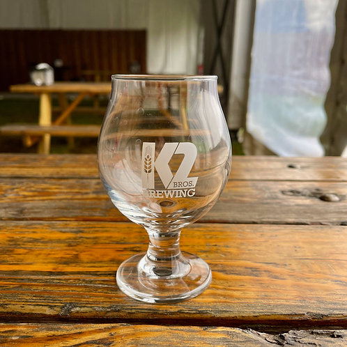 10oz K2 Glass