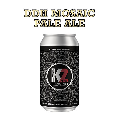 DDH Mosaic Pale Ale (32oz. Crowler)