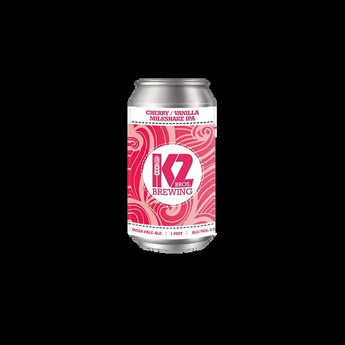 Cherry/Vanilla Milkshake IPA (16oz.) 4-pack