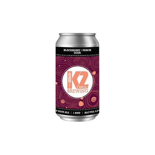 Blackberry/Peach Sour (16oz.) 4-pack