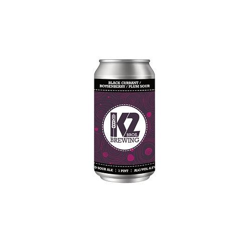 Black Currant/Boysenberry/Plum Sour (16oz.) 4-pack