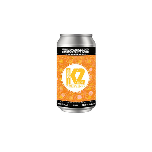 Mango/Tangerine/Passion Fruit Sour (16oz.) 4-pack
