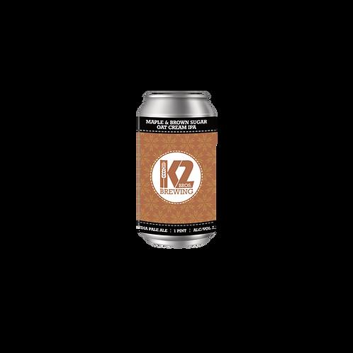 Maple & Brown Sugar Oat Cream IPA (16oz.) 4-pack