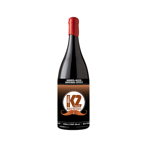 Barrel-Aged Imperial Stout (Rusell's Reserve Barrel) (500ml)